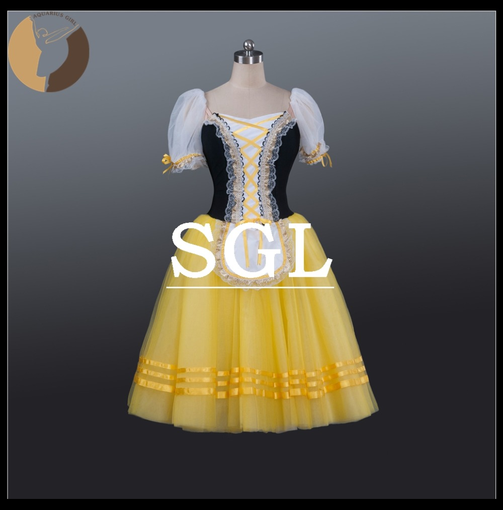 2efec3e8d7a79 Adult-Midi-5-Layers-Soft-Skirts-With-Shorts-Gisele-Costumes -Cinderella-Performance-Yellow-Color-Ballet-Dancewear.jpg