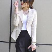 Ladies Blazer Ol Style Women Office Suit Fashion Slim Fit Female Elegante Women Blazers Autumn Spring