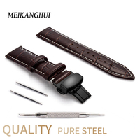 Generic Genuine Cow Leather Strap Watchband for Women Waterproof Belt 12 13 14 15 16 17 18 19 20 21 22 23 24 mm Watches Bands