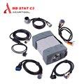 Qualidade Um mb c3 mb estrela c3 conjunto completo com todos os cabos estrela ferramenta de diagnóstico para carros e caminhões estrela c3 multiplexer sem software