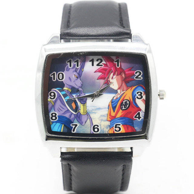 Cartoon Children super dragon ball Watch Fashion Lovely Cute Kids Watches for St