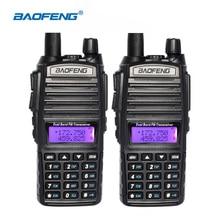 2 шт./лот Baofeng UV-82 радио VHF/UHF 137-174/400-520 мГц Двухдиапазонные Радио Walkie Talkie трансивер CB радиолюбителей Baofeng UV82