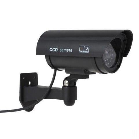Fake Dummy Camera Waterproof Outdoor Fake Camera Battery Powered Flicker Blink LED Security Bullet CCTV Camera Islamabad