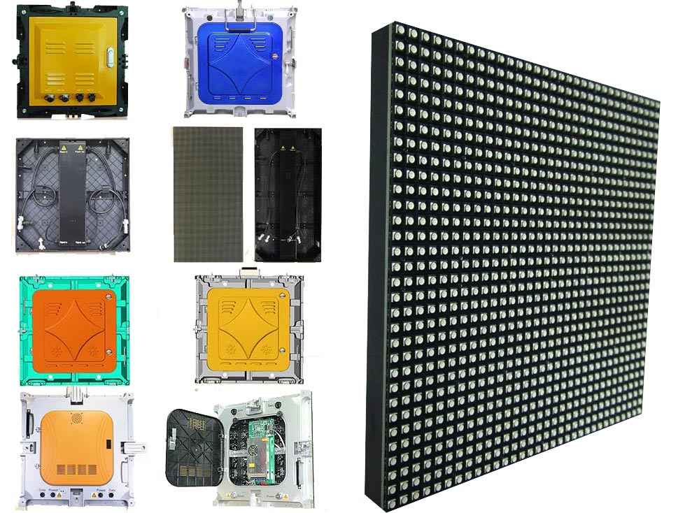 Big discount led video wall on sale p4 pixel pitch 4mm led panel , Nicha  opto Epistar led screen rental mobile display led p2 5-in LED Displays from