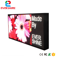 Comprar Dos lados dos lados exterior impermeable pantalla led cáscara fuera del gabinete tamaño 960x480mm P10 P16