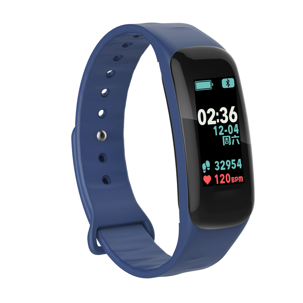 TREZER C1P Fitness Bracelet Heart Rate Monitor Color Screen Blood Pressure Measurement Smart Wristband for IOS Android Phone (15)