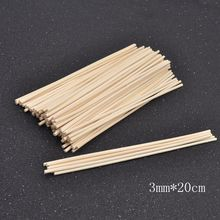 100pcs Premium Rattan Reed Fragrance Diffuser Replacement Refill Sticks Incense 3mm 3.5mm