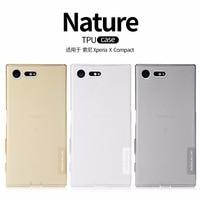 NILLKIN Ultra Thin Transparent Nature TPU Case For Sony Xperia M4 Aqua S Line Clear TPU