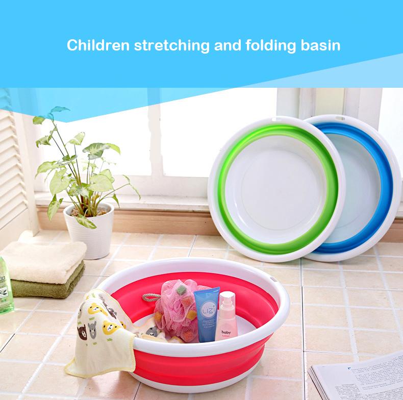 Baby Bath Portable Thickened Folding Baby Bath Tub Children Bath ...