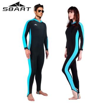 6ac5d4ad7a70 Nueva llegada SBART Kitesurf vestido de buceo Windsurfing Wetsuit hombres mujeres  protección solar natación traje de baño Triathlon Rafting Suit