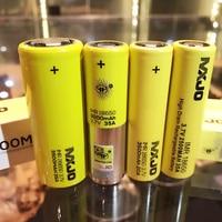 2PCS USA MXJO IMR 18650 2500mAh 35A Battery yellow high drain rechargeable li lon Vape Electronic cigarette power batteries