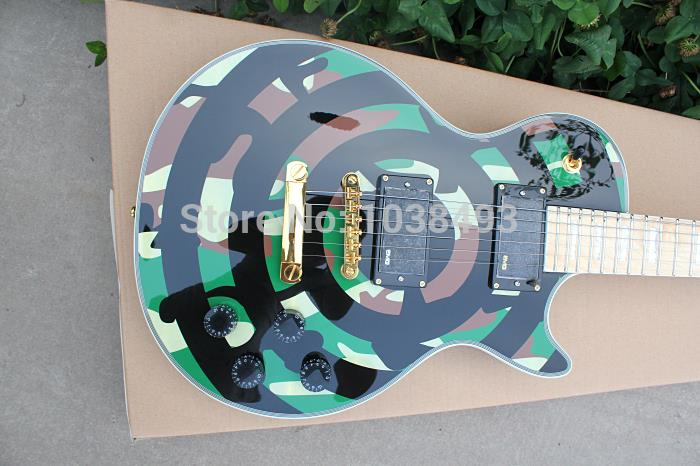 LP manufacturers make the best electric guitar black ebony fingerboard can be customized as required EMS free shipping free shipping new gbson 1956 lp standard model electric guitar ebony fingerboard with p90s pick ups in black 111014