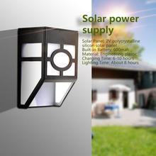 PIR Motion Sensor Solar LED Light Wall Mount 2LED Solar Lamp Waterproof Outdoor Garden Security Night Light For Path Fence Yard недорого
