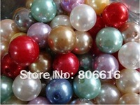 16MM 230Pcs Round Acrylic ABS Beads Loose Plastic Simulated Pearl Bead Jewellery Accessories