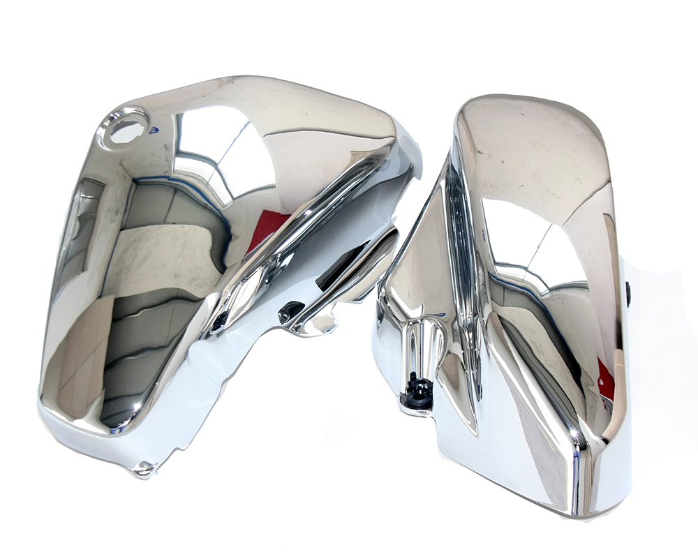 Здесь продается  One Pair Chrome Left & Right Battery Side Covers for Suzuki C50 VL800 Volusia VL 800   Автомобили и Мотоциклы