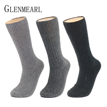 Thick Cotton Men Socks Quality Brand Business Fall Winter Hosiery Thick Warm Plus Size Compression Coolmax