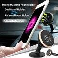 Ímã mini painel do carro universal suporte do telefone do moblie e air vent montar titular para o telefone acessórios gps para iphone/samsung