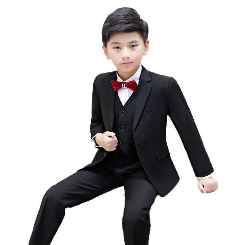 Jungen Anzüge Für Hochzeiten Jungen Anzüge Formale Anzug Für Junge Kostüm Enfant Garcon Mariage Terno Infantil Disfraz Infantil 2019 L14 Reines Und Mildes Aroma