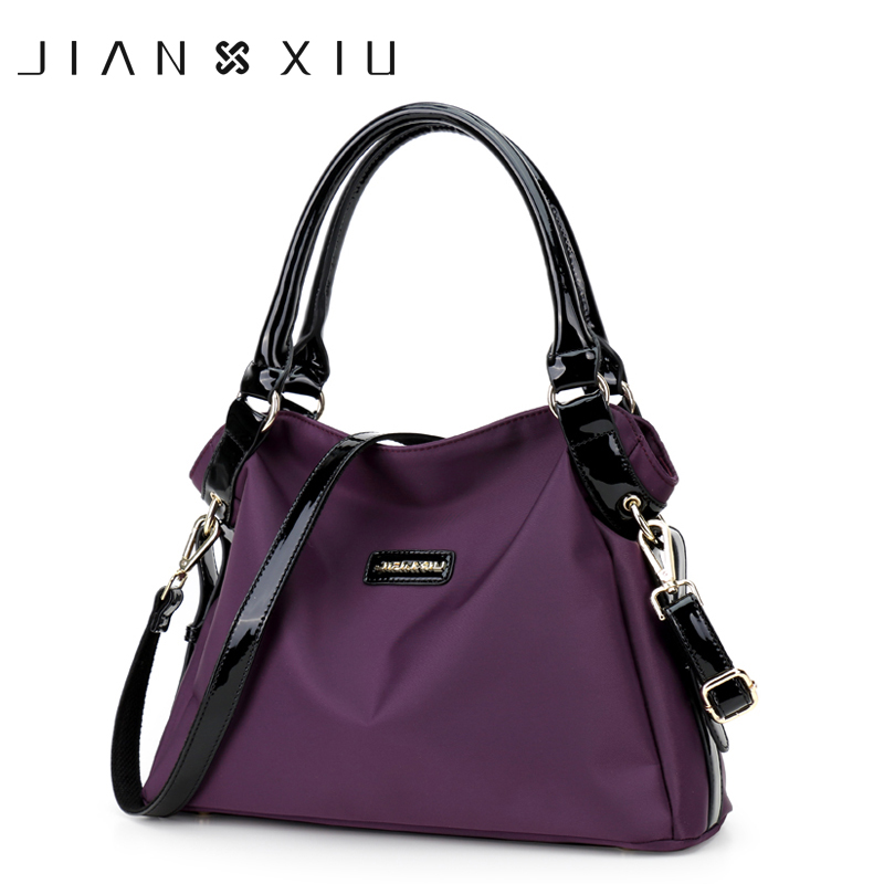JIANXIU Handbag Bolsa Feminina Luxury Handbags Women Bags Designer Tassen Sac a Main Bolsos Mujer Oxford Shoulder Crossbody Bag jianxiu handbags women messenger bags bolsa feminina sac a main bolsos mujer tassen nylon waterproof shoulder crossbody tote bag
