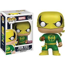 Official Funko pop Marvel: Classic Iron Fist Vinyl Action Figure Collectible Model Toy with Original Box
