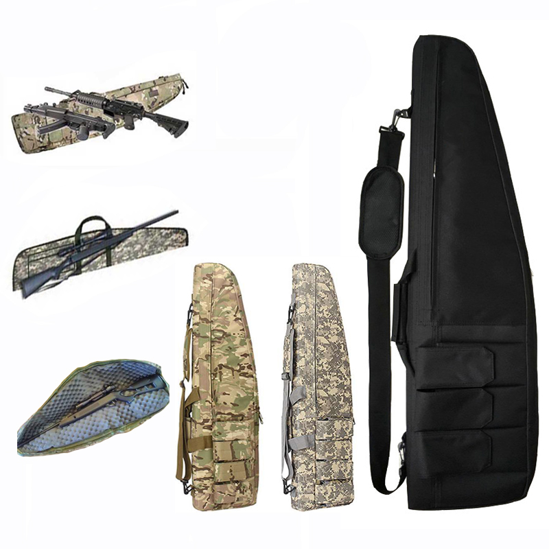 70 / 98 / 118cm Nylon Hunting Bag Rifle Case Tactical Military Gear Airsoft Holster Gun Bag Outdoor Sport Accessories Molle Bag