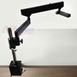 Image 2 - FYSCOPE ARTICULATING ARM PILLAR CLAMP STAND FOR STEREO MICROSCOPES+ A3