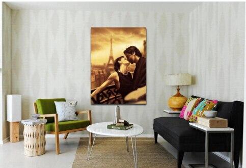 Hot Art Nouveau In Paris Painting Wall Decoration Oil Print On