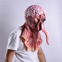 Máscara de halloween decoração de halloween máscara de terror para cosplay festa máscara realista decoracion de halloween mascaras de látex realista