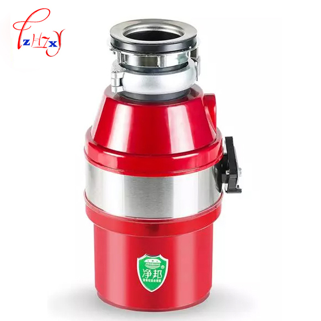Home Use Food Waste Processor Kitchen Garbage Disposal Crusher 450W  Stainless Steel Grinder Food Slag Crushing