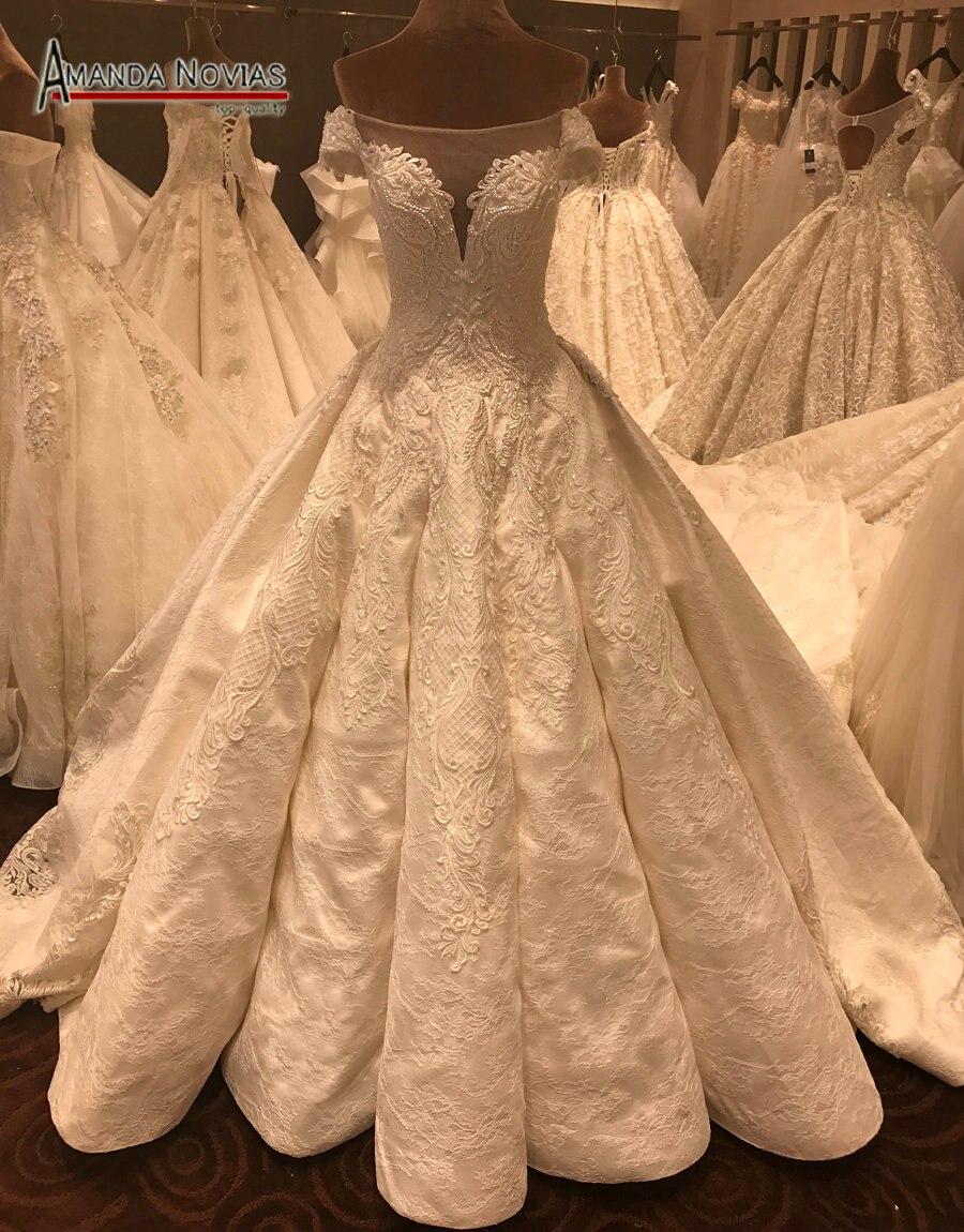 Buy vestido de noiva 2017 hot sale luxury for Wedding dress warehouse sale