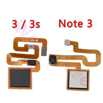 Original Back Home Button Fingerprint Sensor Flex Cable For Xiaomi Redmi Note 3 3s Pro Home Flex Phone Parts недорого