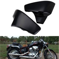 Seitendeckel Batterie Side Faring Cover Abdeckung For Honda VT 600 Shadow VLX Deluxe Steed 400VLS