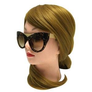 Image 4 - Солнцезащитные очки «кошачий глаз» женские, винтажные брендовые дизайнерские Роскошные солнечные очки в стиле ретро