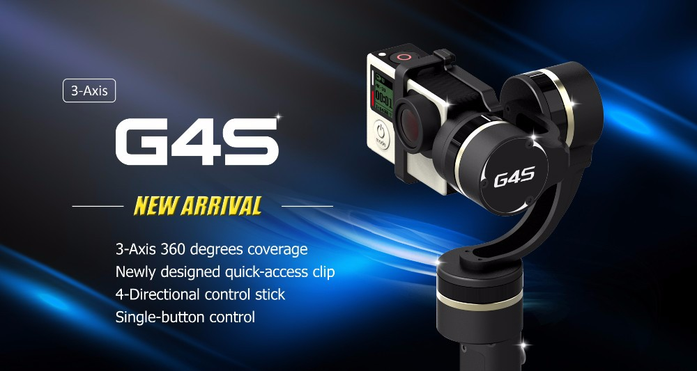 Feiyu G4S 3 axis handheld gimbal for gopro camera-2