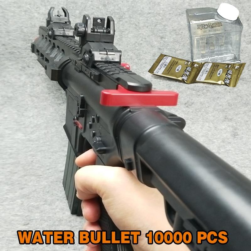 Airsoft Air Guns Game Toy Gun Soft Air Water Bullet Bursts Gun Live CS  Assault Snipe Weapon Outdoors Toys