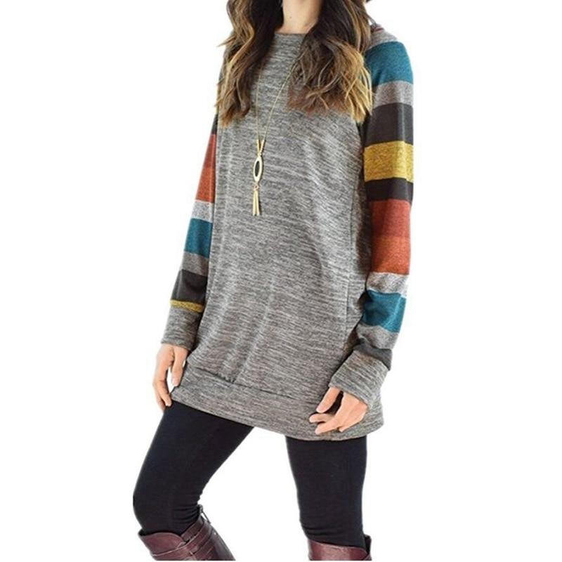 LASPERAL-2017-Autumn-Winter-Tee-Shirt-Women-Long-Sleeve-O-Neck-Striped-Patchwrork-T-Shirt-Casual (1)