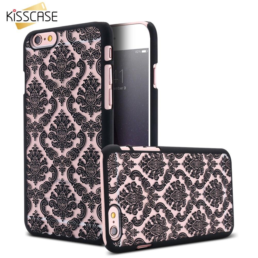 Kisscase para iphone 6 6s case 0.3mm super delgado tpu gel silicio teléfono case