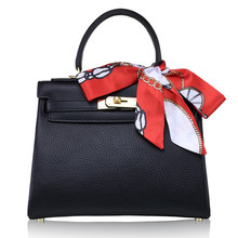 Luxury Bandbags Women Bags Designer High Quality Genuine Leather Top-Handle Tote
