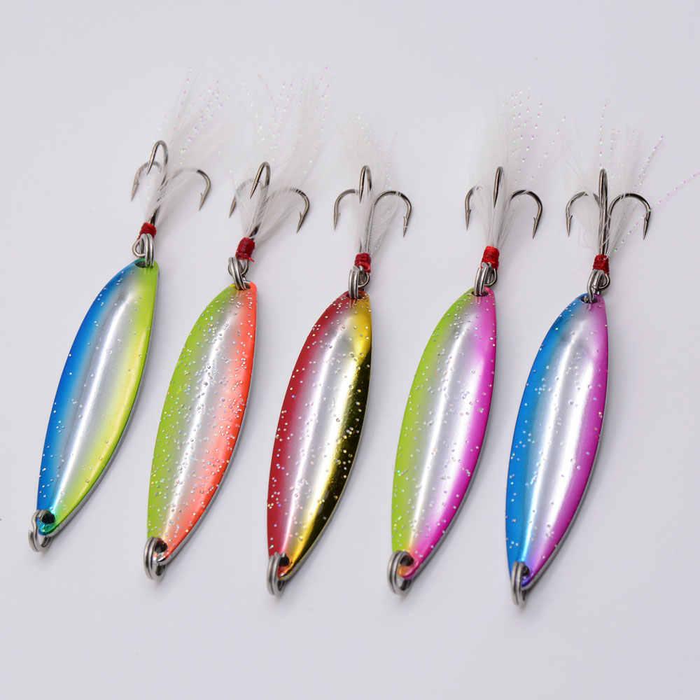 Balleo 5g 8g 14g 17g Spinner Löffel Matel Shell Angeln Lure Fishing Tackle