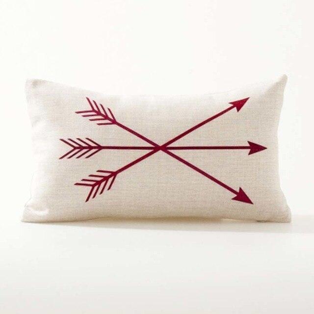 Nordic Geometric Decorative Pillowcase Size: 45CM WT0042 Color: 20