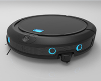 NEWEST Robot Vacuum Cleaner QQ9 With Smartest GPS Navigation Smartphone WIFI Mapping Visible Hand Motion Control