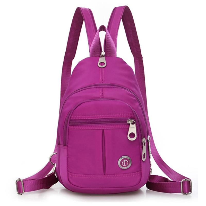 2017 New Crossbody Chest Bags Women Handbags Casual Female Messenger Cross Body Bag Travel Shoulder Bags Back Pack Bolsos Mujer