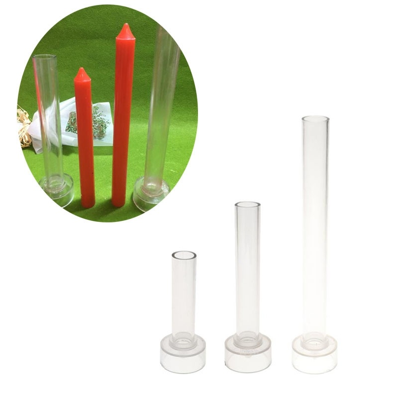 MILIVIXAY 1Pcs High Temperature Resistance Plastic Church Top Candle Mould DIY Scented Candle Making Crafts Accessories