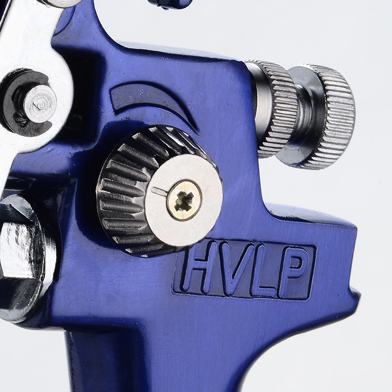 Image 4 - 0.8mm/1.0mm Nozzle H 2000 Professional HVLP Spray Gun Mini Air Paint Spray Guns Airbrush For Painting Car Aerograph-in Spray Guns from Tools on