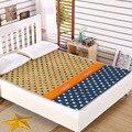 Marca de moda de algodón relleno de colchón colchón doble colchón de espuma de memoria de masaje