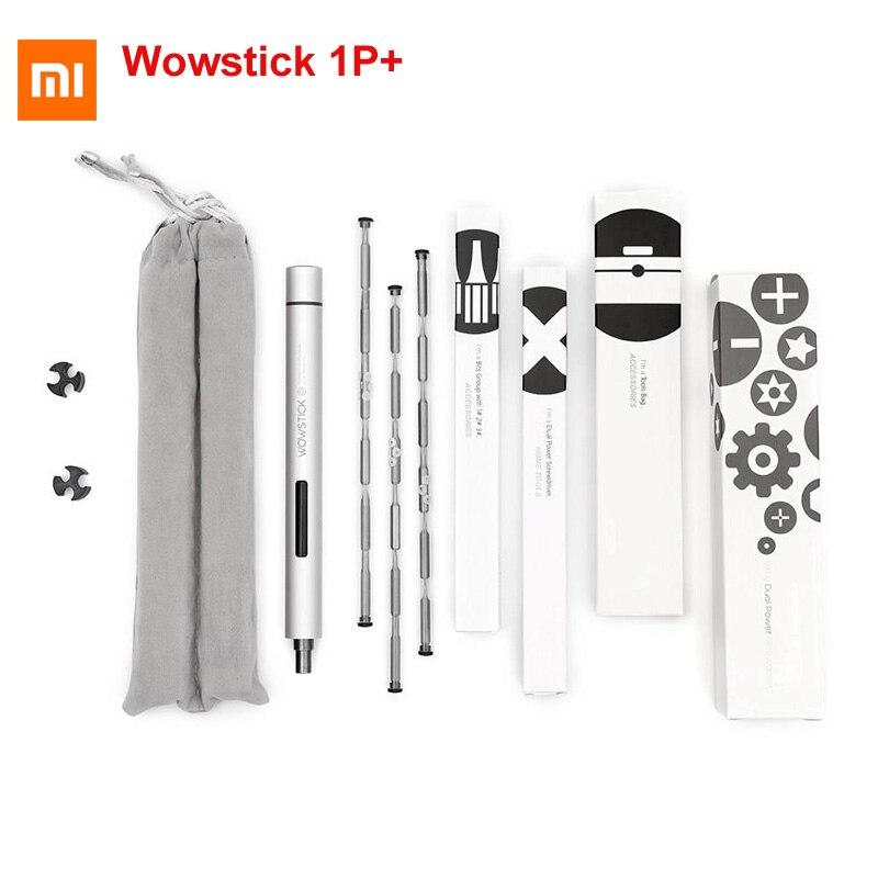 Original XIAO mi mi jia Wowstick 1 P + 19 en 1 tournevis électrique sans fil fonctionne avec mi home kit maison intelligente tout produit