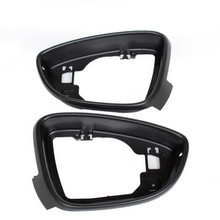Левая и правая боковые зеркала Корпус рамки Накладка для VW passat b7 CC Jetta MK6 Beetle EOS Scirocco