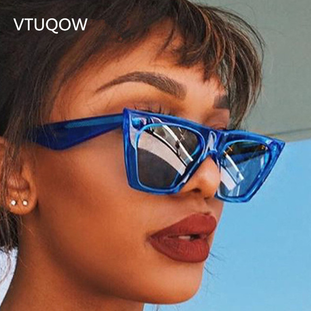 8514fc8bb61e 2019 New Luxury Cat Eye Sunglasses Women Brand Designer Hipster Vintage  Unique Sun Glasses For Women Female Lady Sunglass UV400