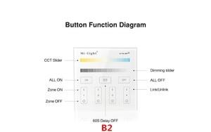 Image 3 - Mi Light B1 B2 B3 B4 لوحة تحكم 2 X AAA بطارية 2.4G RF شاشة تعمل باللمس التحكم عن CCT خافت RGB RGBW RGB + CCT LED قطاع/لمبة