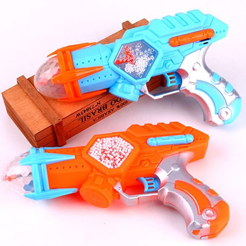 Электрическое игрушечное ружье пространство Снежинка Музыка Звук Свет пистолет вращающаяся проекция для детей игрушки подарки на день рождения интересные игрушки